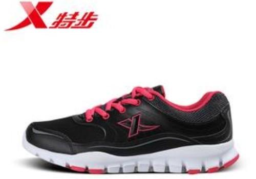 特步女运动鞋运动的时尚化