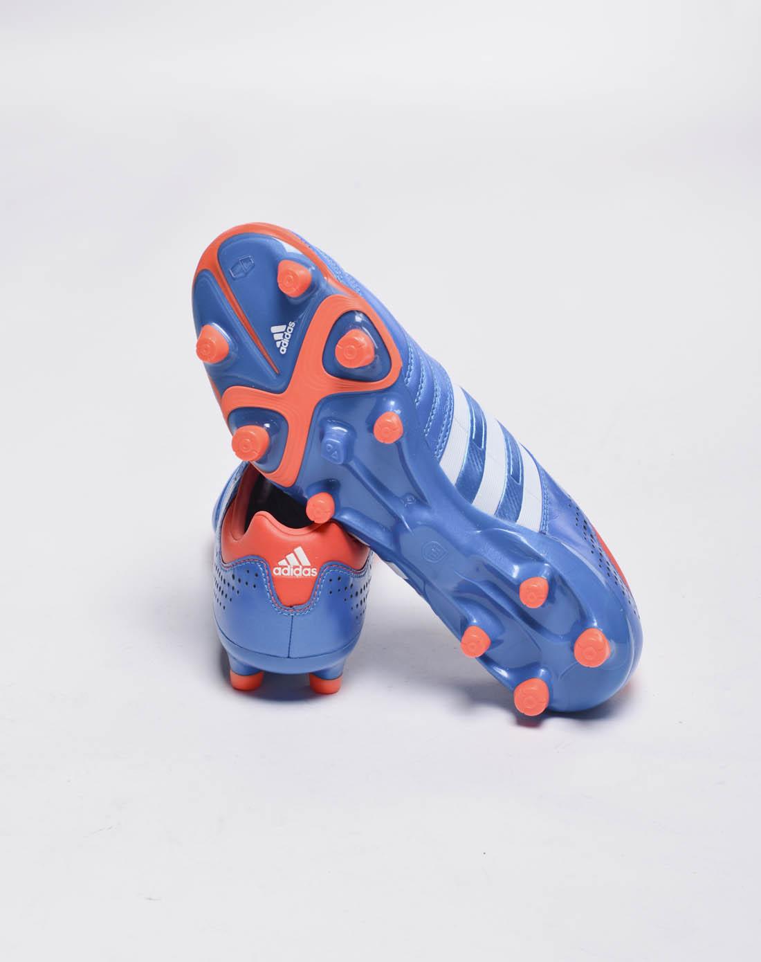 阿迪达斯adidas男女鞋男子蓝色足球鞋g63810