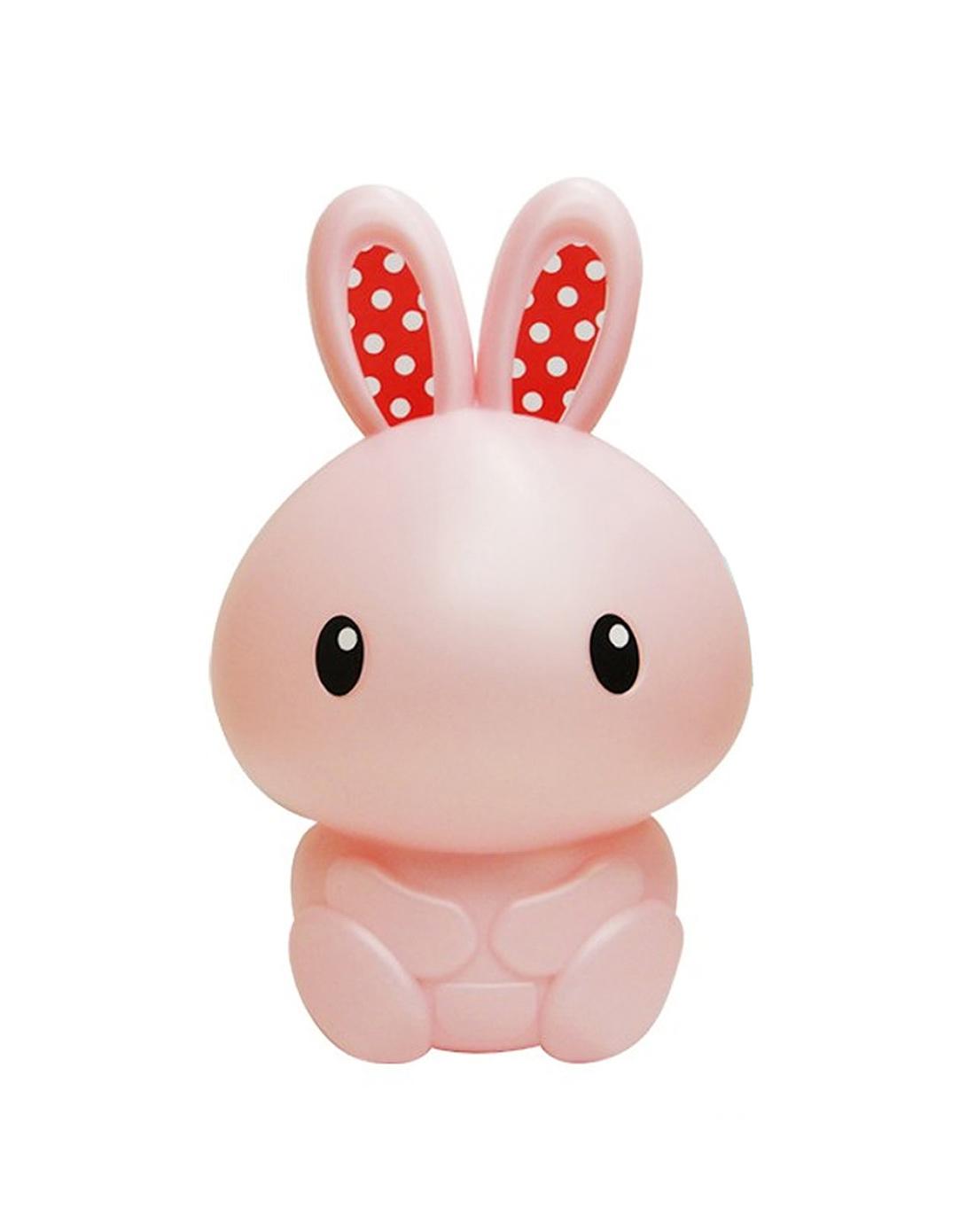 可爱小兔子储蓄罐粉色13*25cm