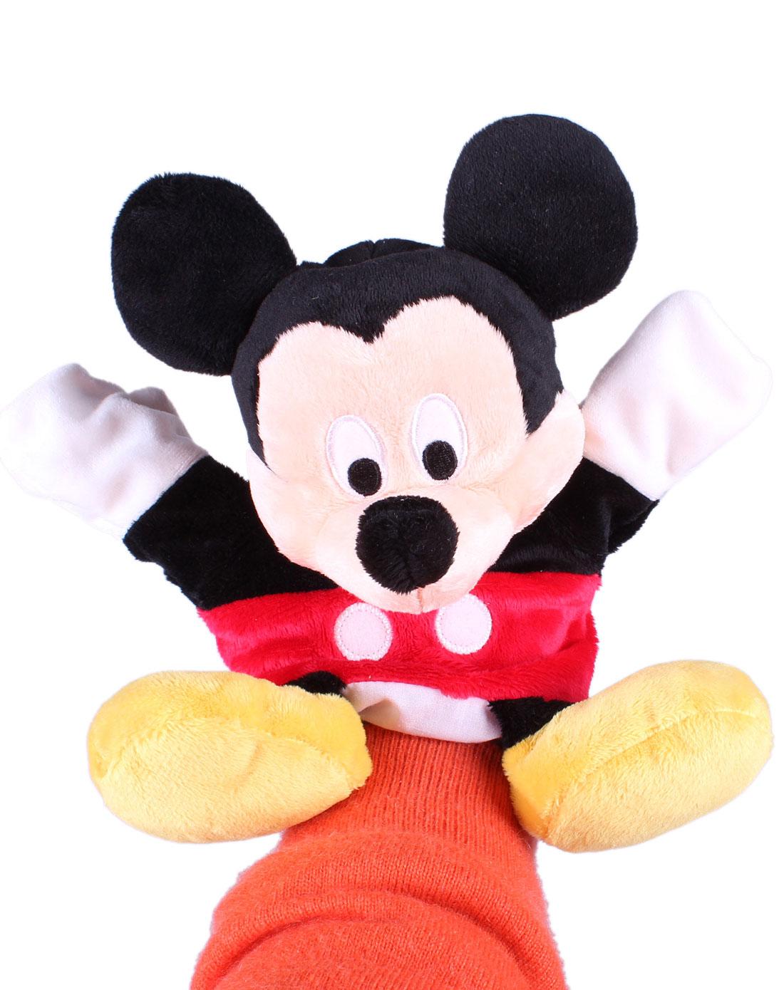 10寸可爱米奇手偶毛绒玩具