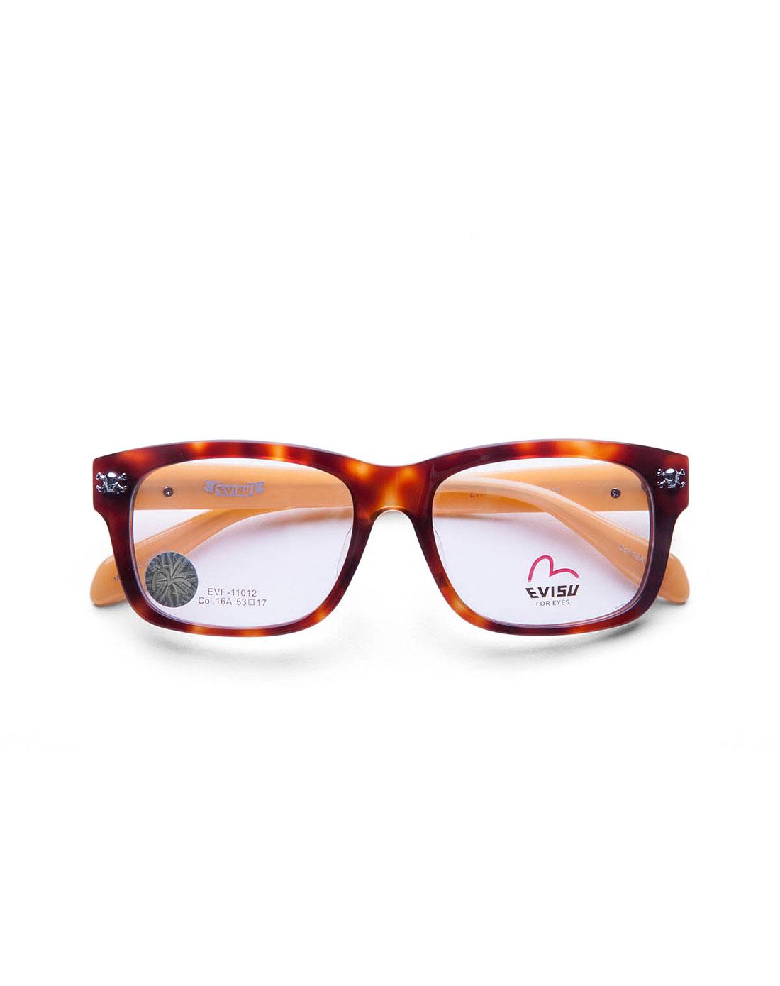 复古边框玳瑁色全框眼镜