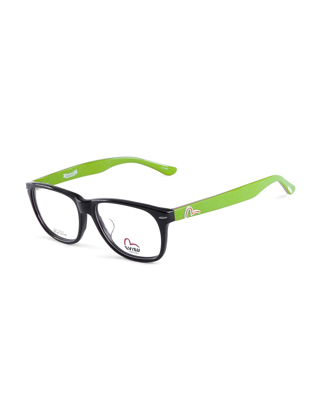 惠美寿evisu眼镜专场经典边框紫/绿色全框眼镜evf