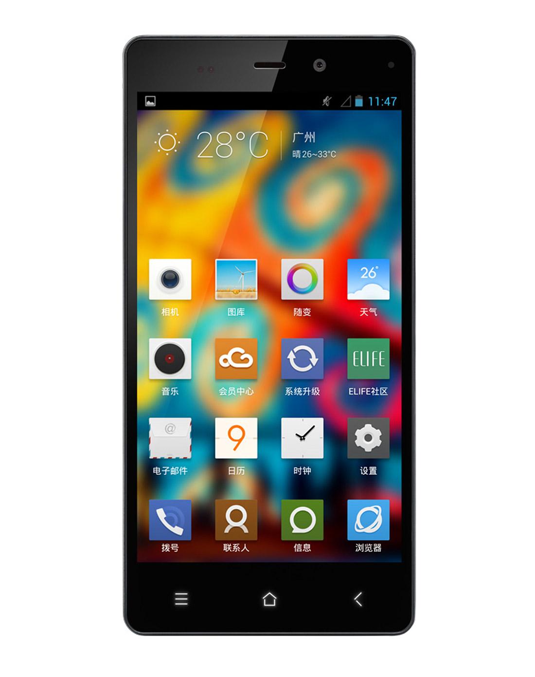 gionee/金立 e6超薄大屏3g四核安卓智能手机