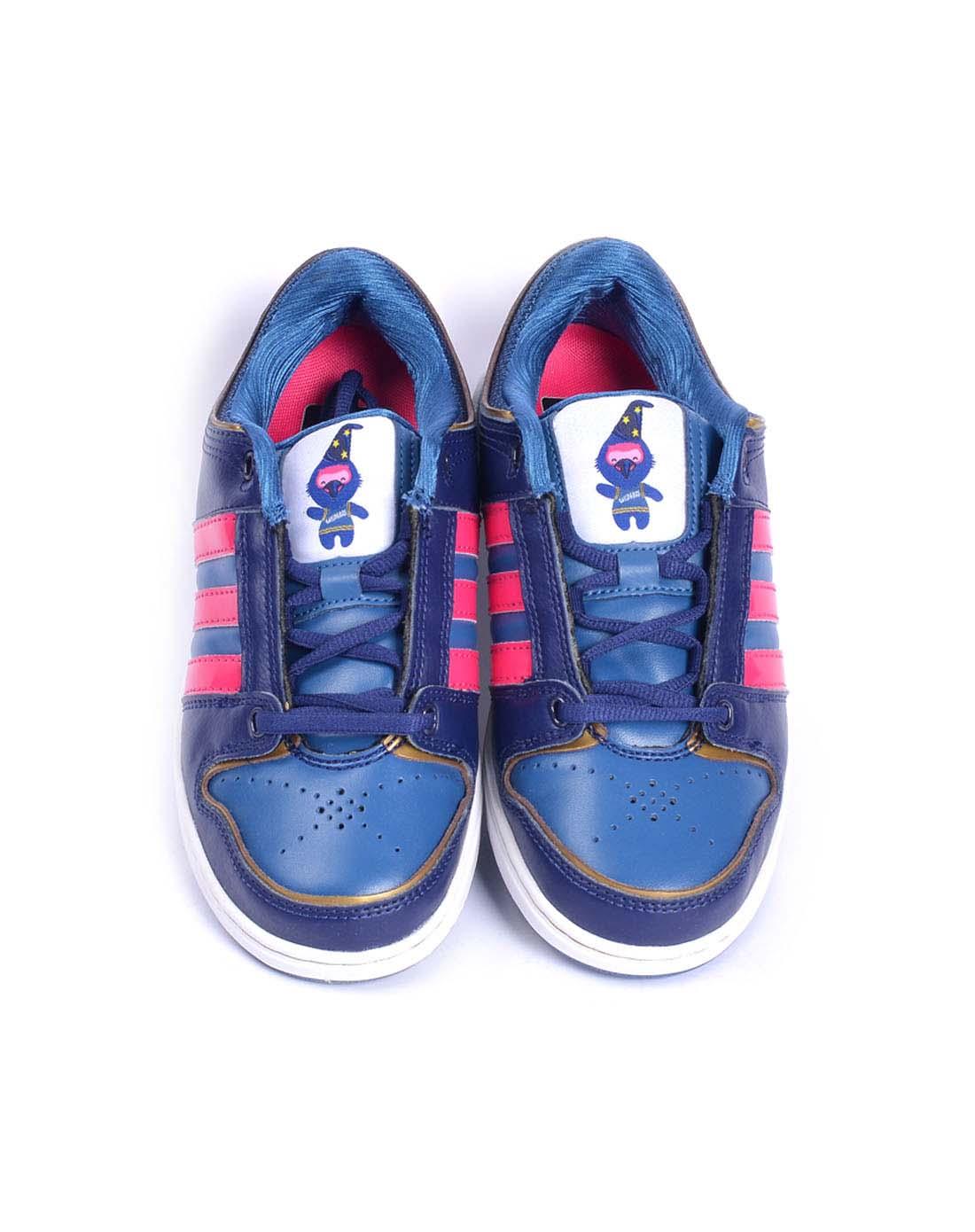 阿迪达斯adidas女子蓝色篮球鞋g20893