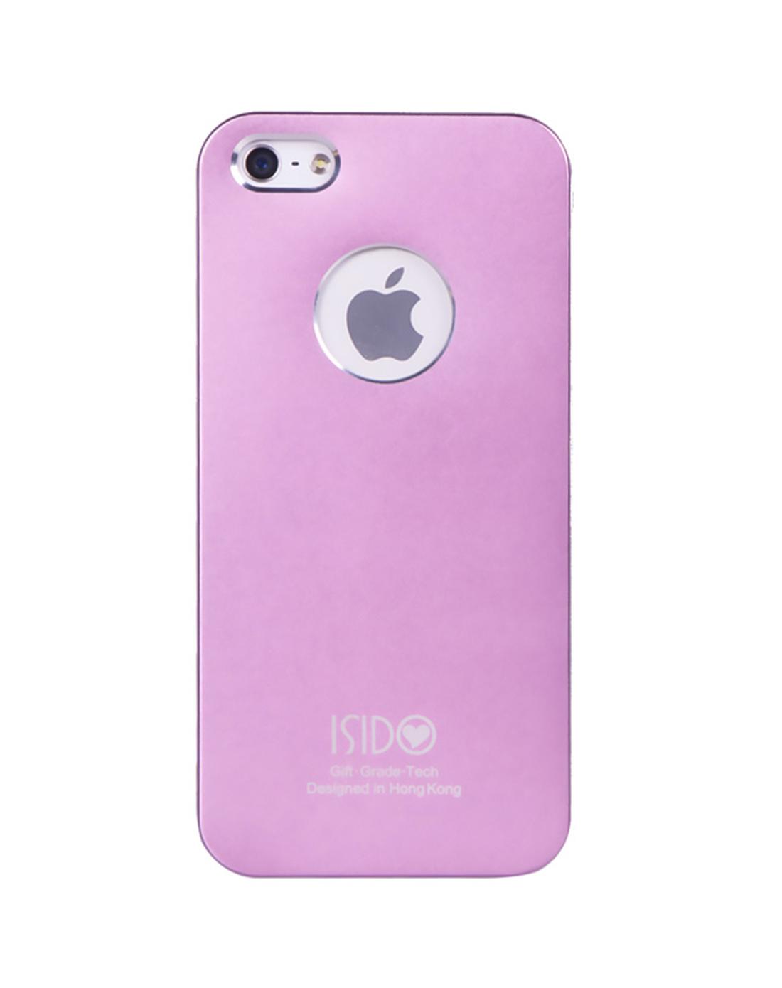 苹果5代电镀手机壳(粉色)