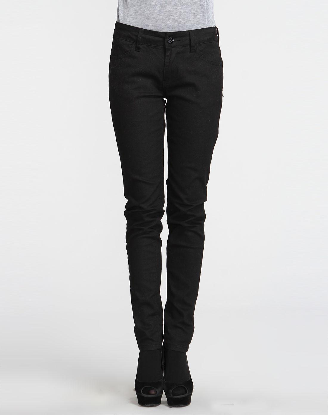 女士裤子新欹d�9/)�(�_黑色裤子