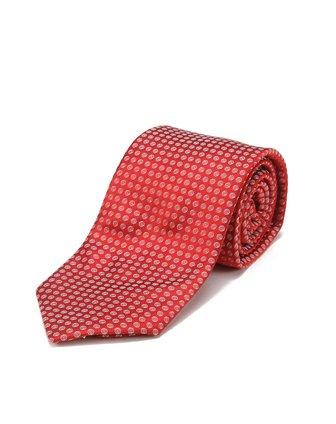 红色小圆圈时尚领带