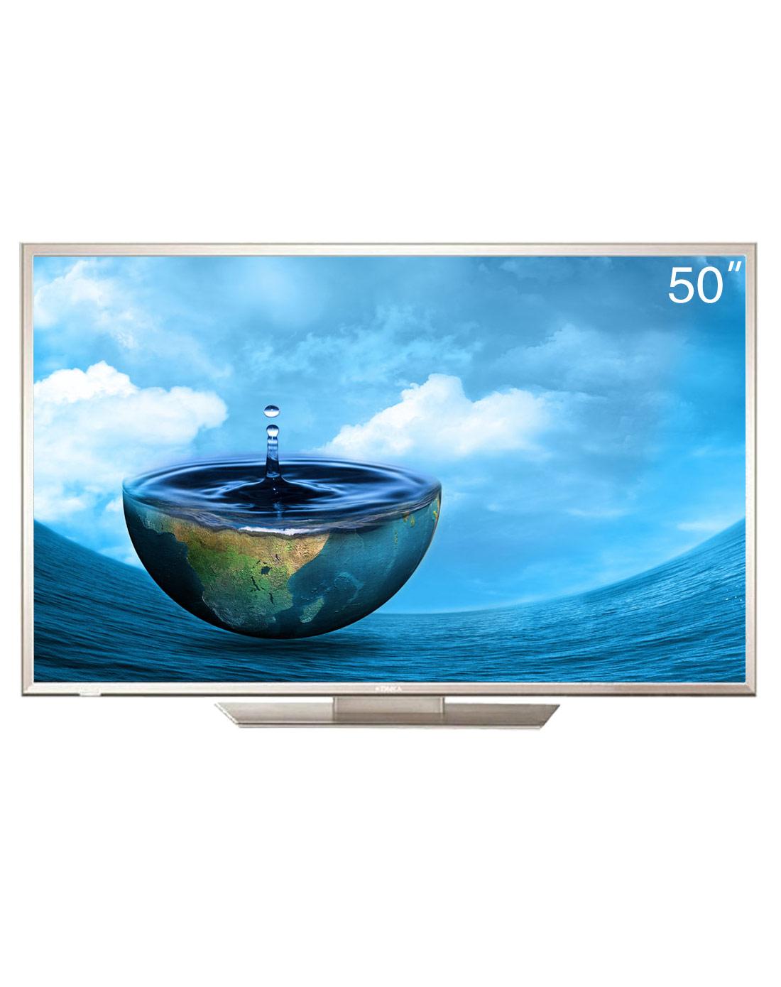 4k超高清分辨率网络智能安卓4.0快门式3d电视(银色)