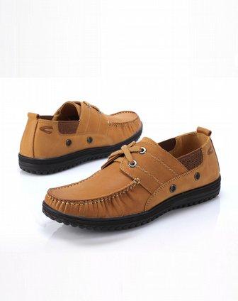 active浅棕色牛皮休闲鞋c6360615086