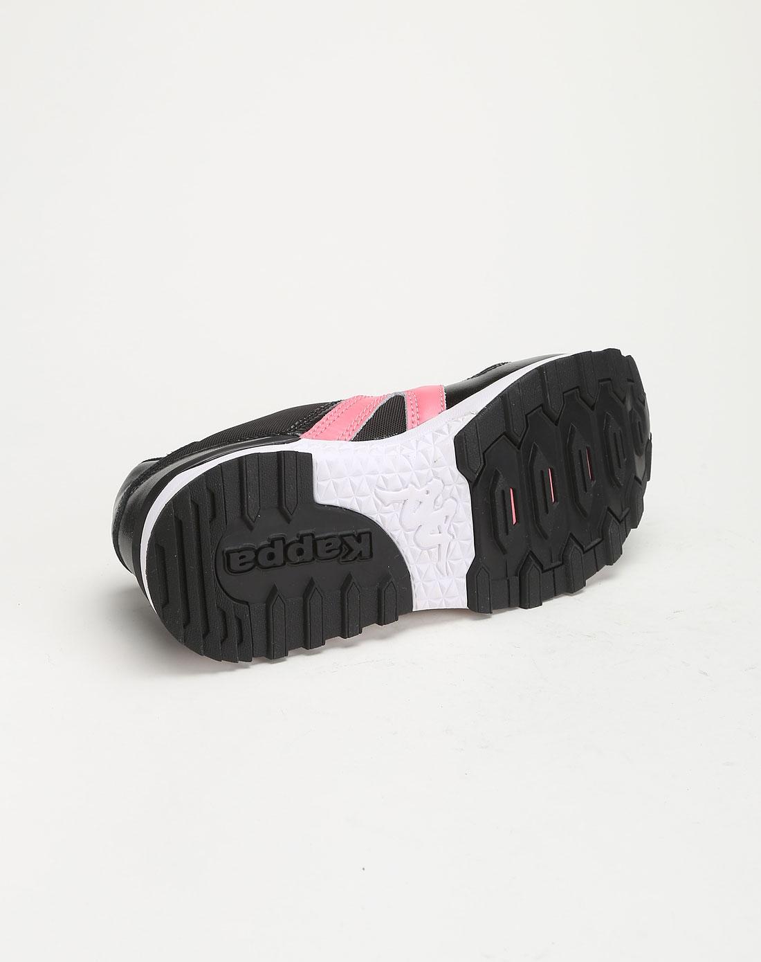 女款黑/粉/白色时尚休闲鞋