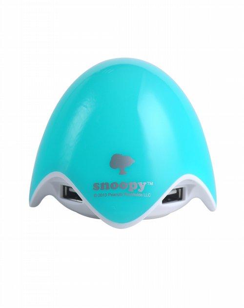 多功能蓝色usb呼吸小夜灯,圆润可爱的蛋型设计,多模调控,赏心悦目