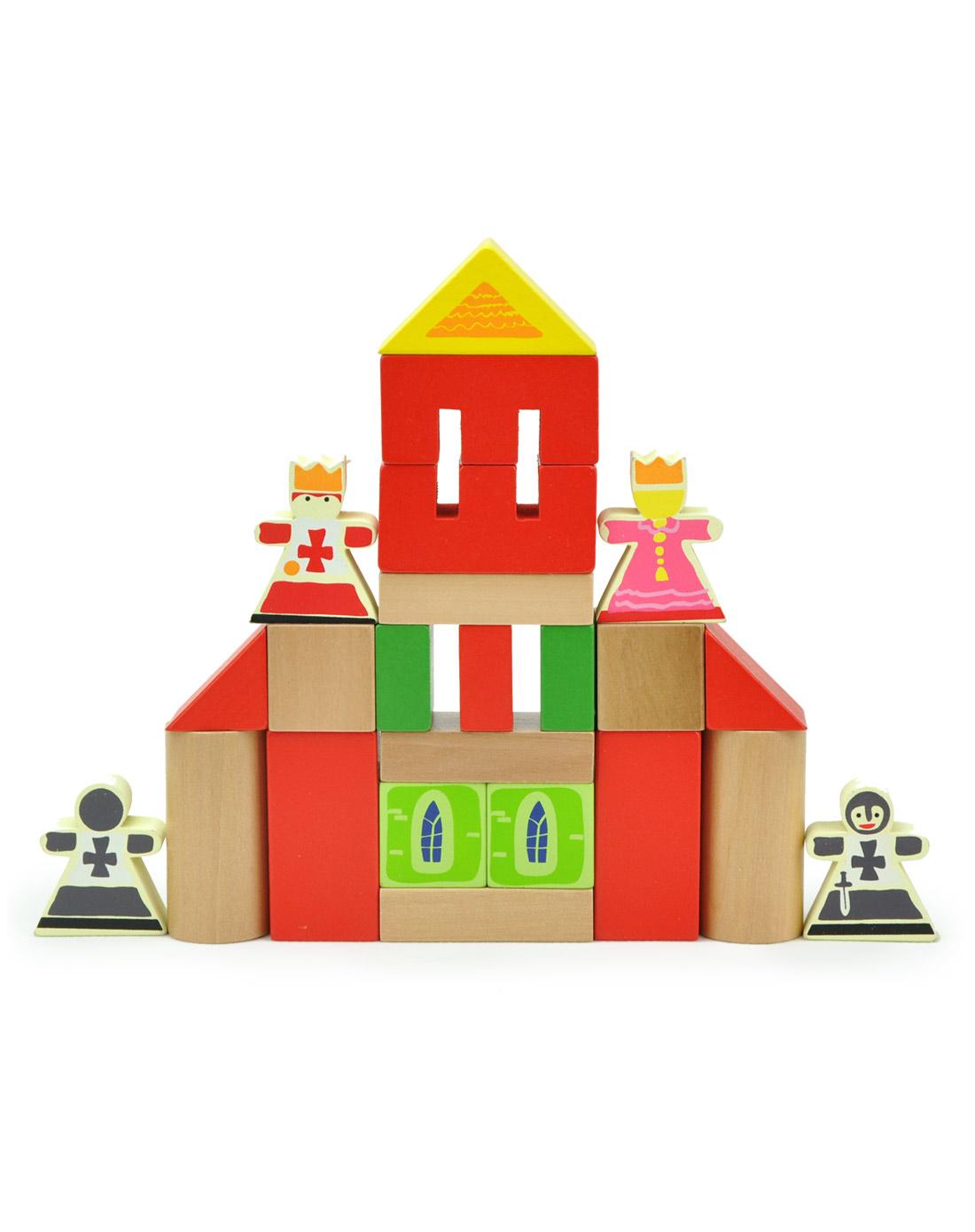 (无定价)智立方80粒王子公主童话城堡积木