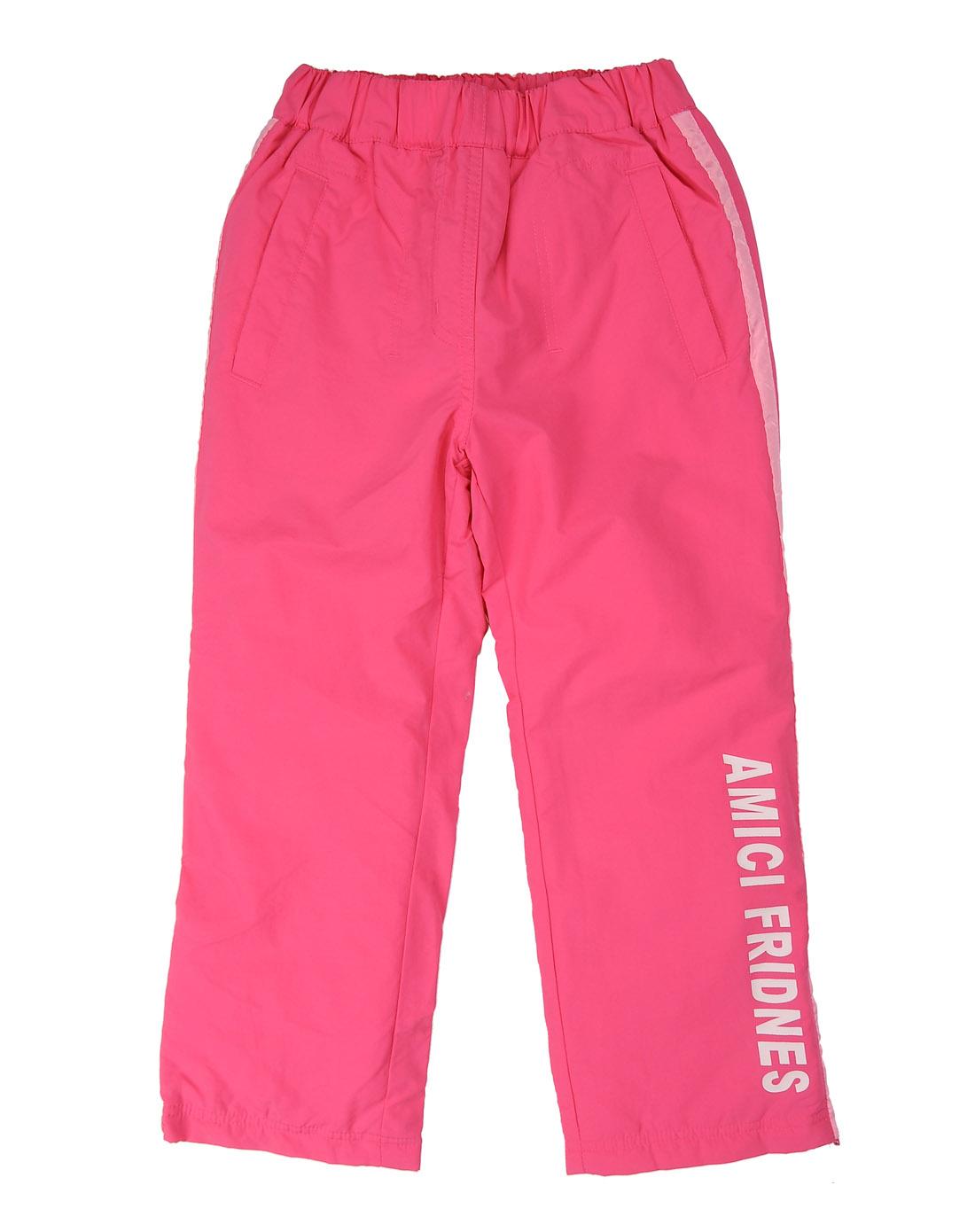 运动裤(100-160)p16010