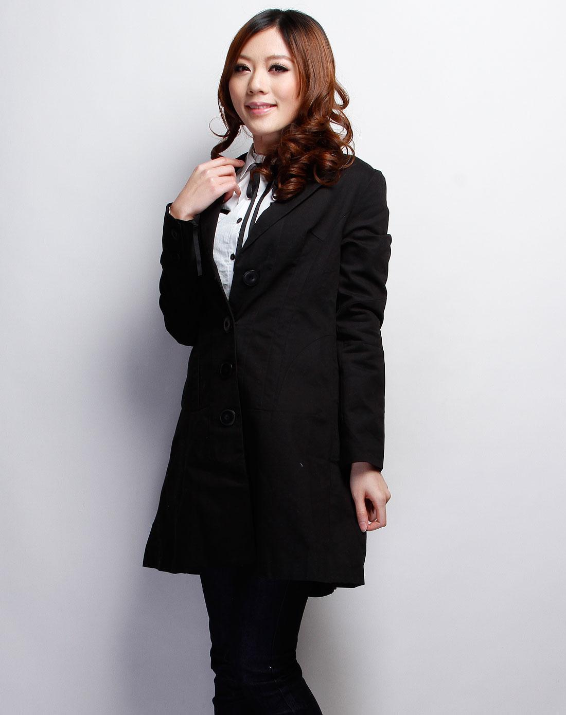 女西装外套_女西装外套中长款黑色质量比较好 网上专卖