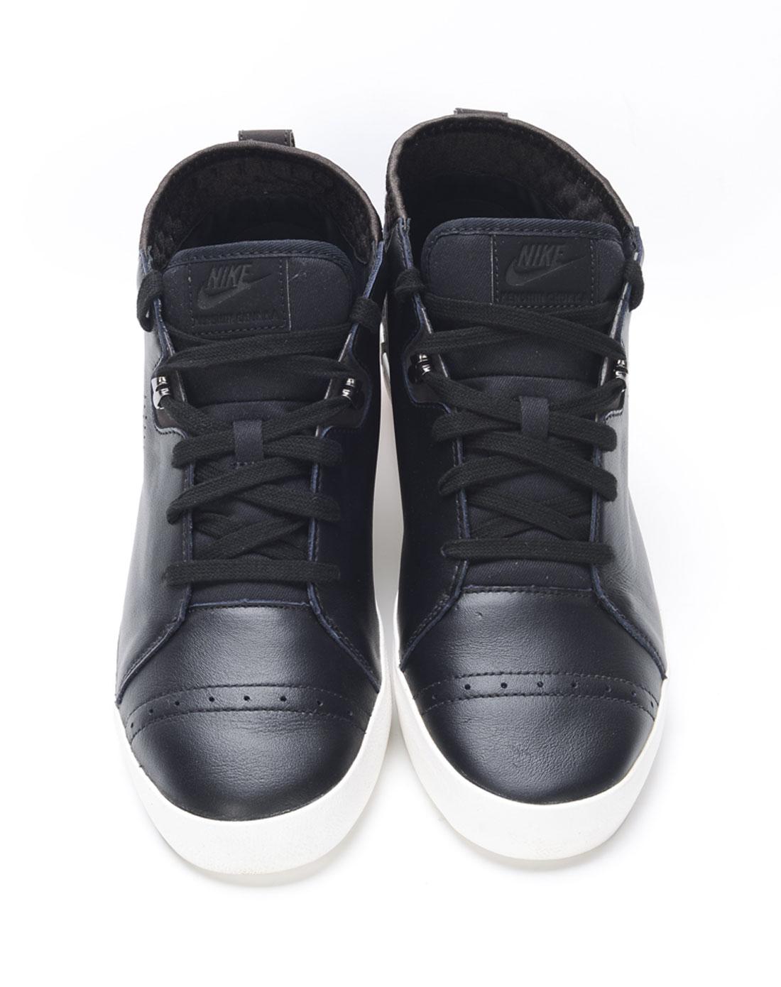 耐克nike-男子黑色复古鞋525268-001