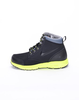 耐克nike-儿童黑/绿休闲鞋535921-002