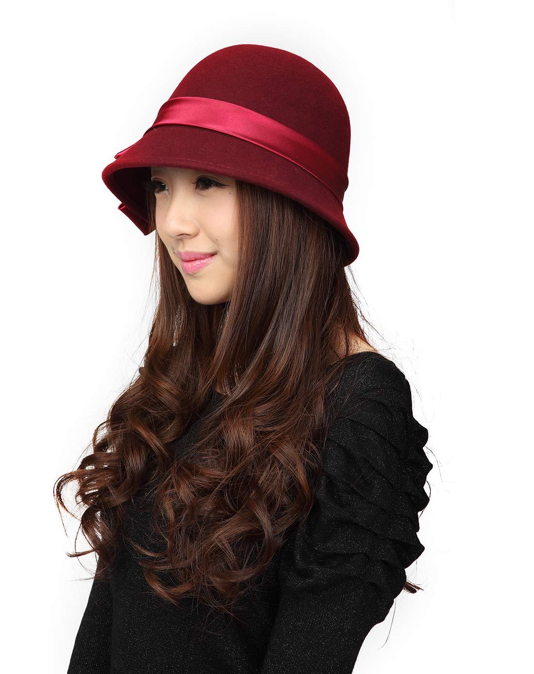 女款蝴蝶结时装帽子