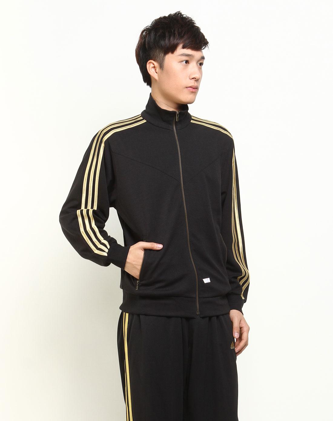 黑金色长袖外套031753
