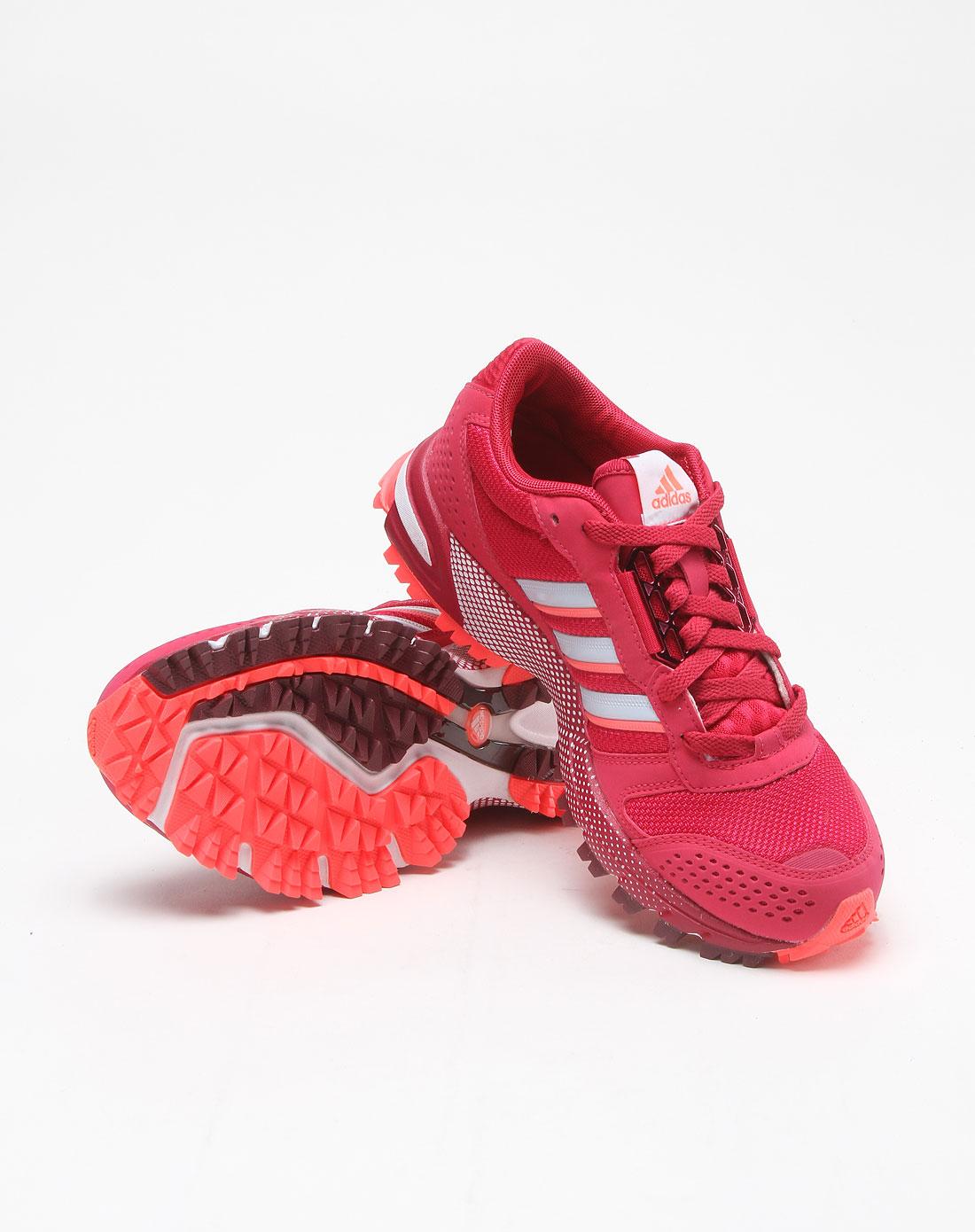 玫红色运动鞋g5007