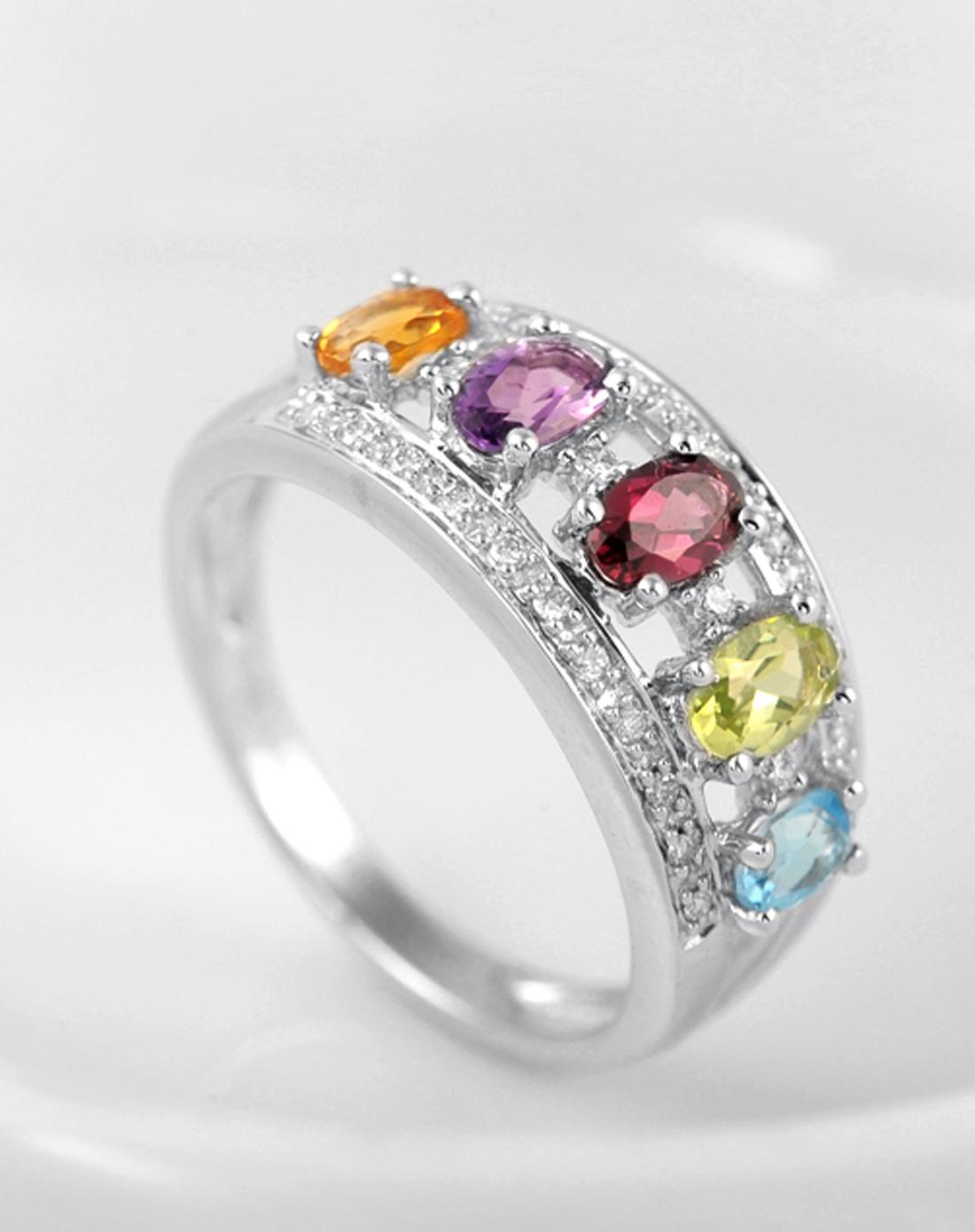 enzo珠宝专场彩虹18k金石榴石戒指er0166396w1高清图片