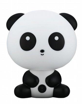 好时达超萌可爱小熊猫卡通外形创意生日礼物闹钟功能语音报时灯