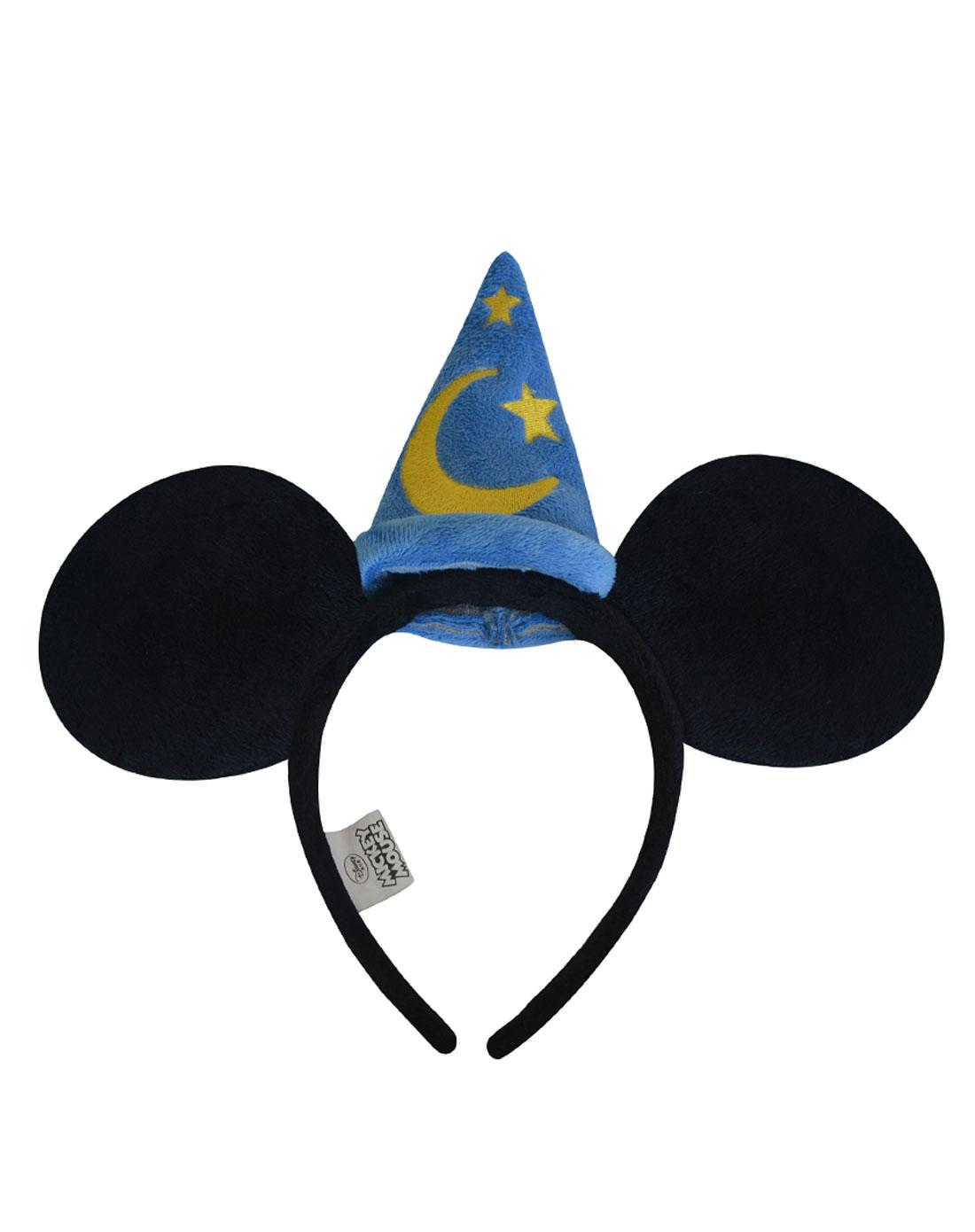 迪士尼米奇蓝色星星月亮头箍