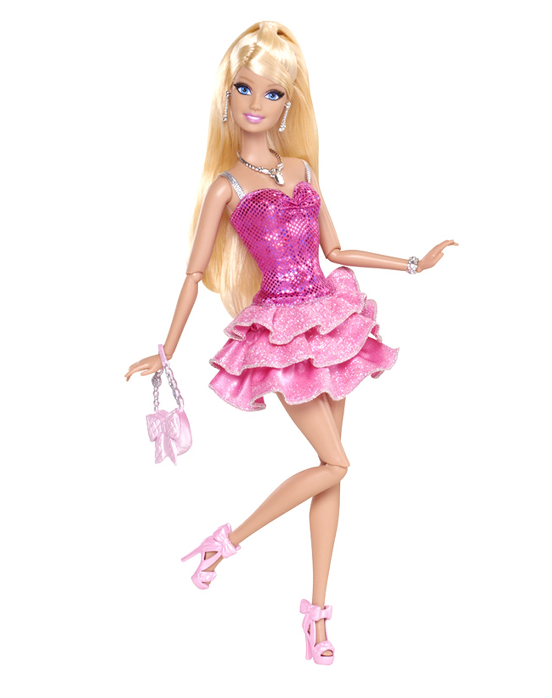 芭比梦想豪宅之芭比娃娃