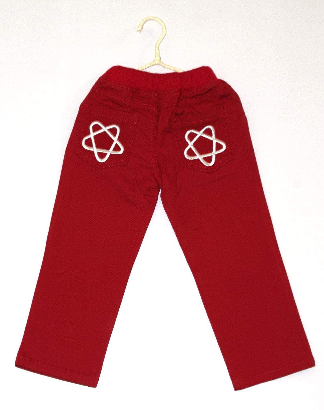 布丁达人男女童女童红色裤子cx317a