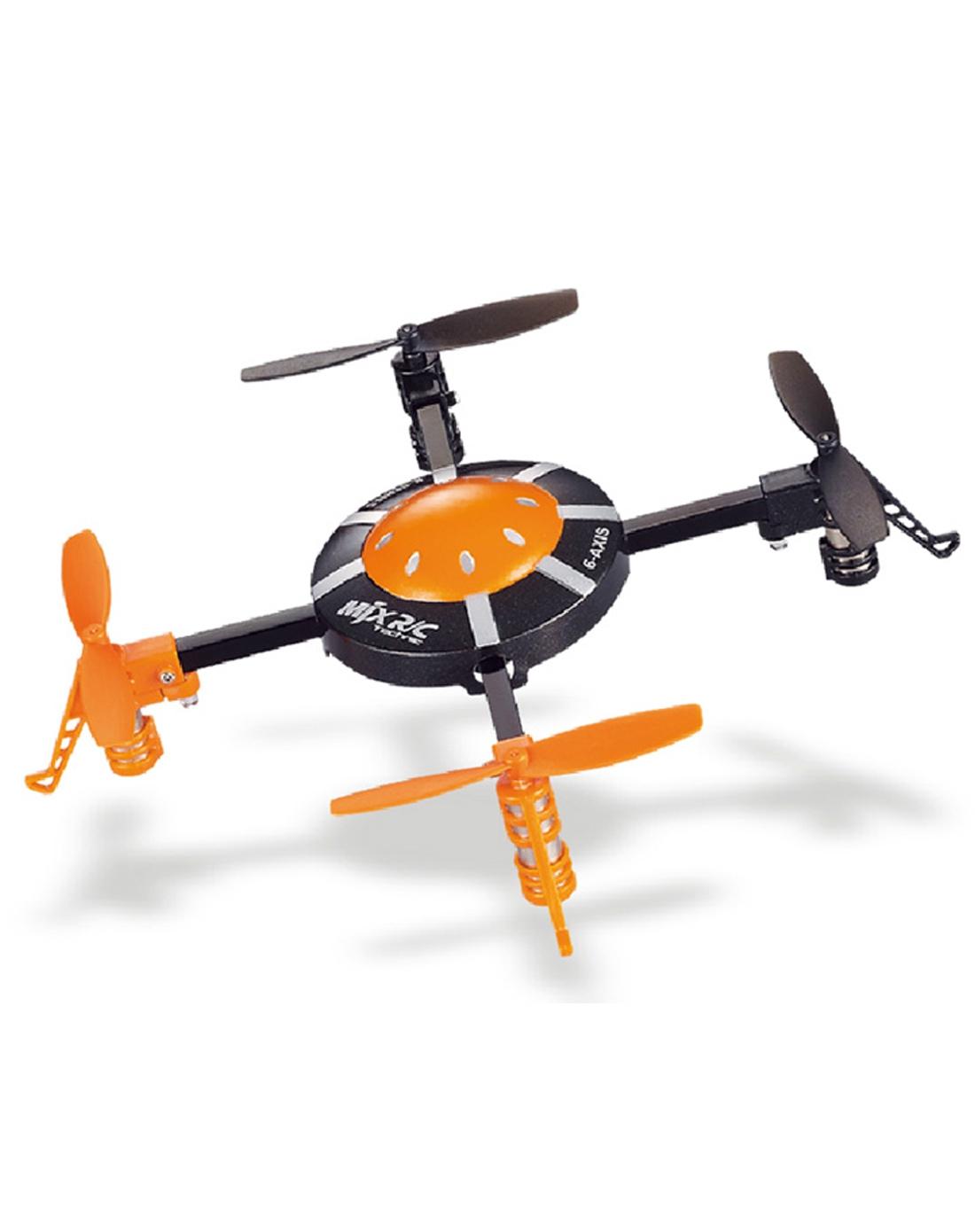 美嘉欣 四轴遥控飞碟 2.4g遥控飞行器-橙色