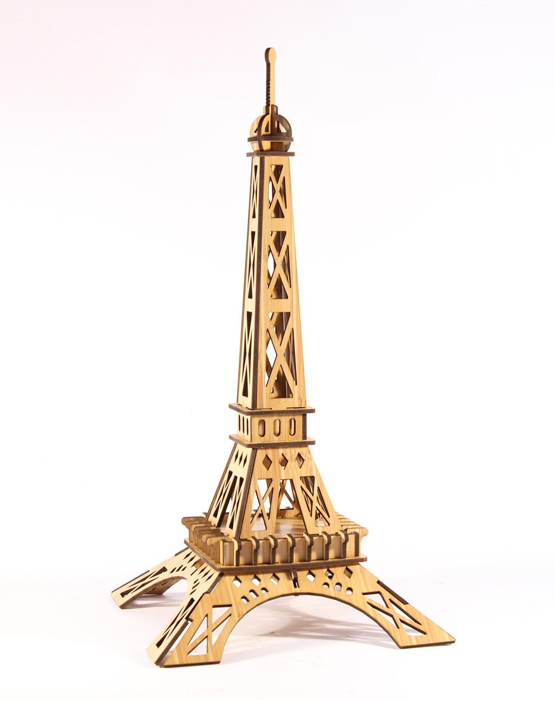 拼图法国巴黎铁塔