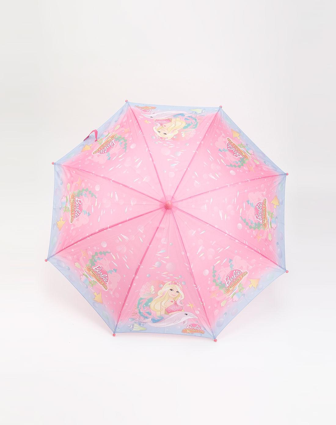 惠粉红_最后约惠-3c文体混合专场-everwin粉红色多彩鱼群芭比直伞