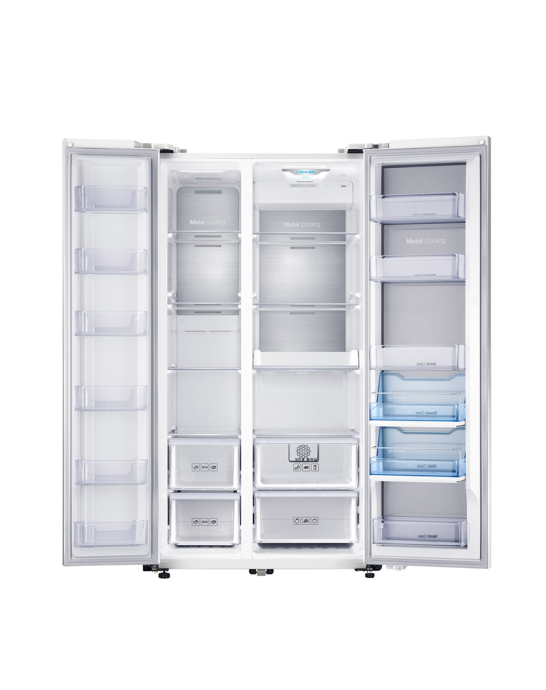 三星545l智能变频压缩机双开门冰箱(流光白)