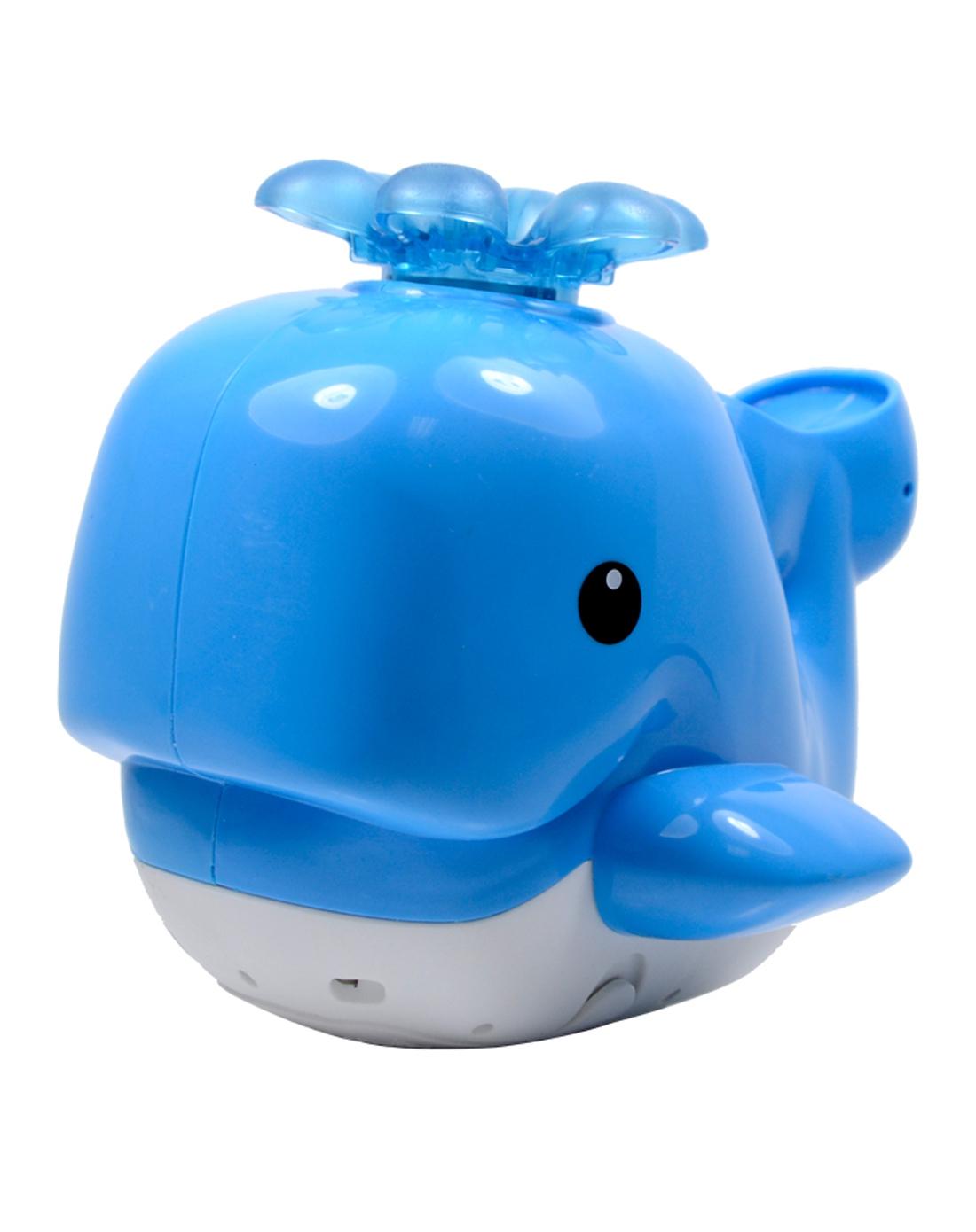 费雪 喷水洗浴小鲸鱼