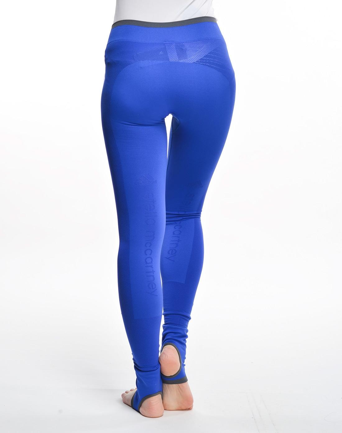 阿迪达斯adidas女子蓝色stella紧身裤x51159