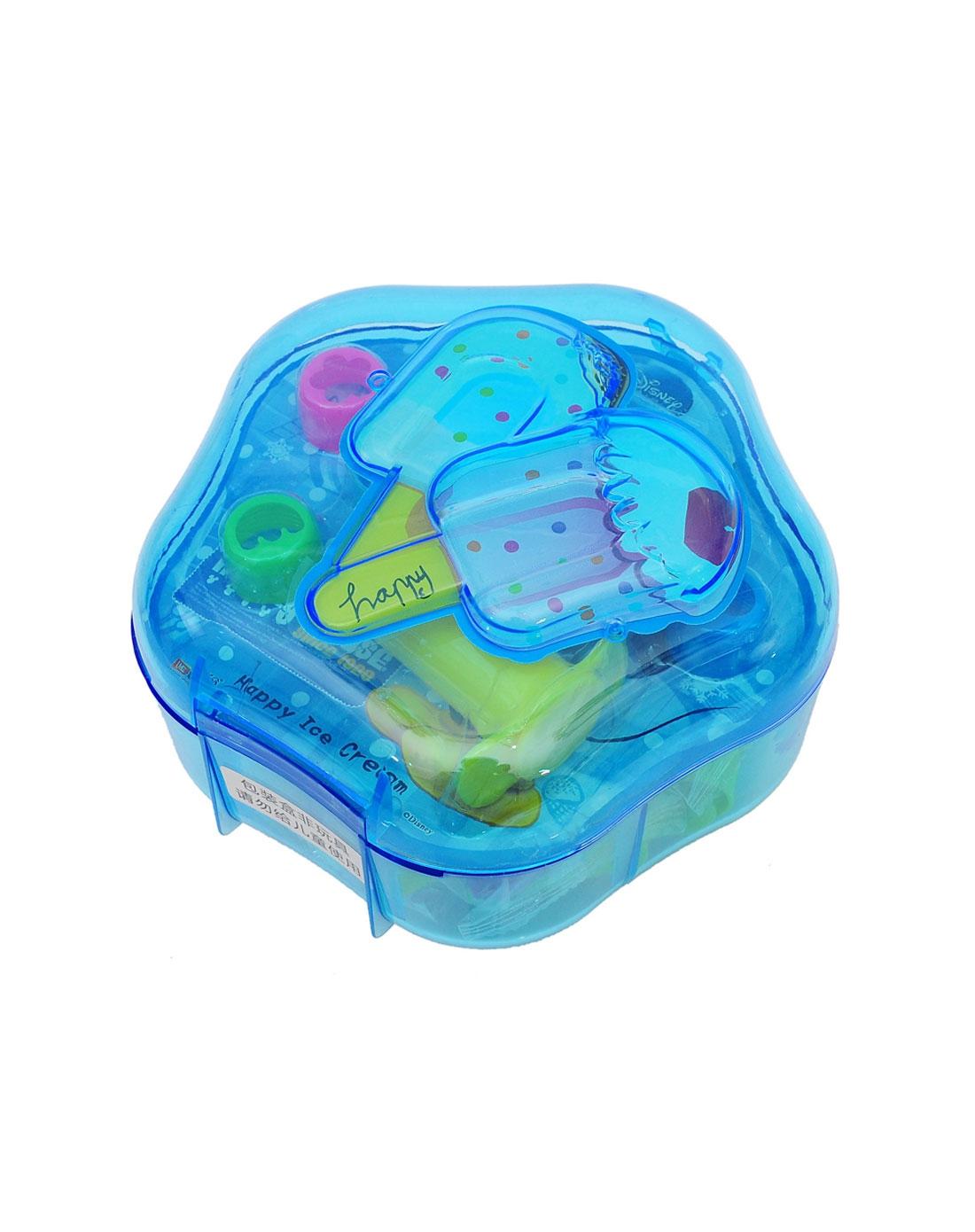 迪士尼 男童蓝色创意彩泥5d雪糕轻轻泥
