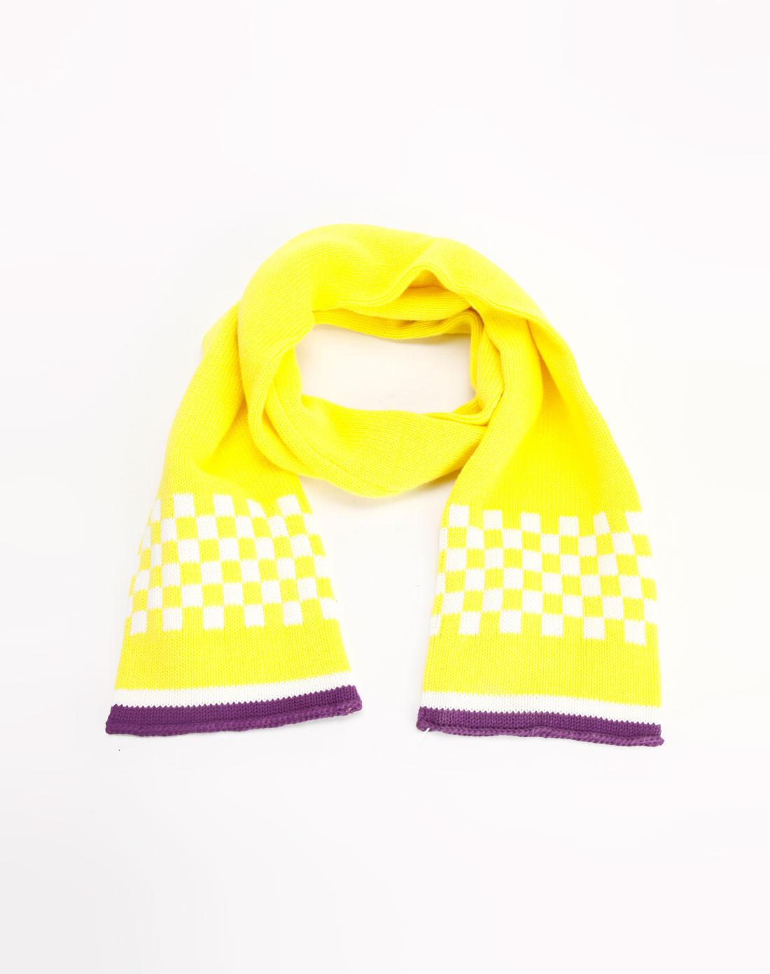 黄�:�y�(y�d_男童黄色时尚围巾