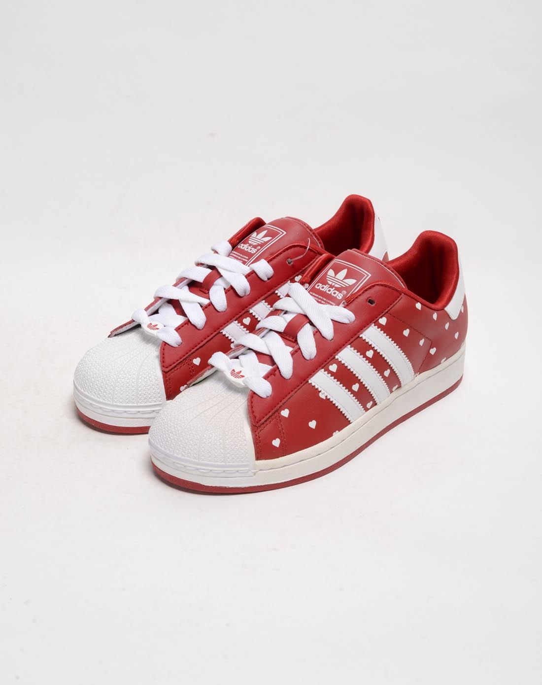 阿迪达斯adidas女鞋专场-女子红色复古鞋