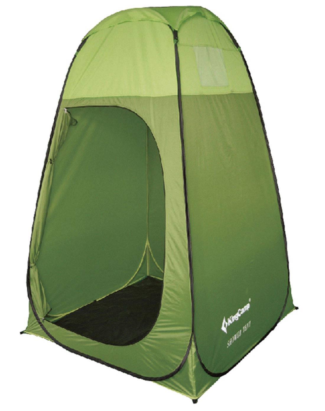 绿色快速免搭建换衣洗澡卫生间帐篷