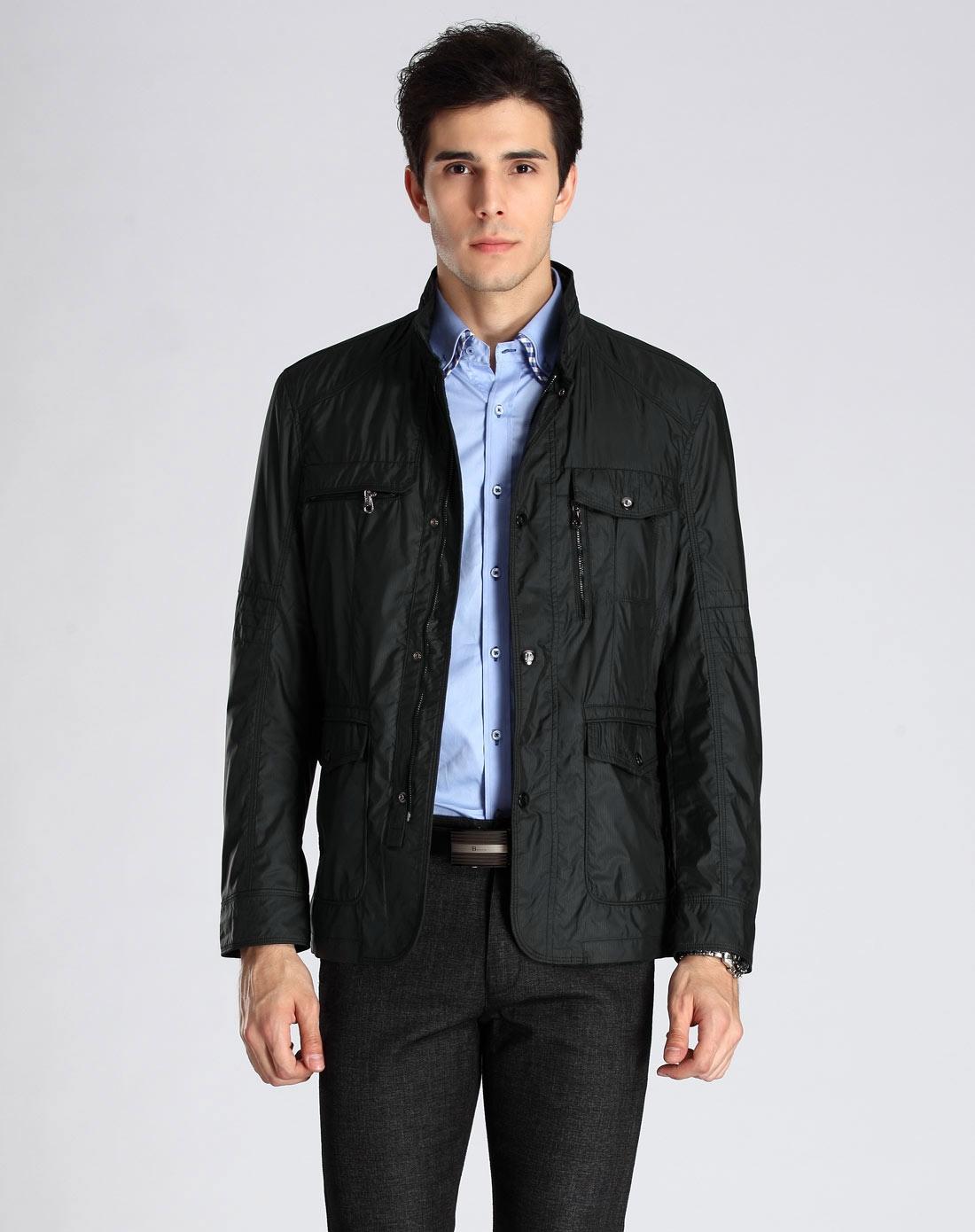 黑色牛仔夹克男士秋冬款修身韩价格质量 哪个牌子比较