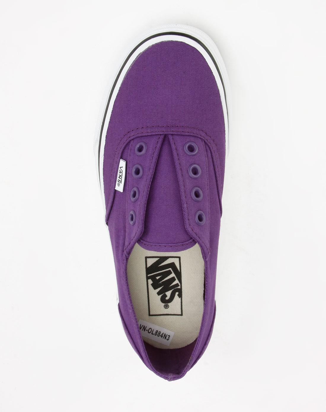 范斯vans男女紫色休闲布鞋vn-0l884n3