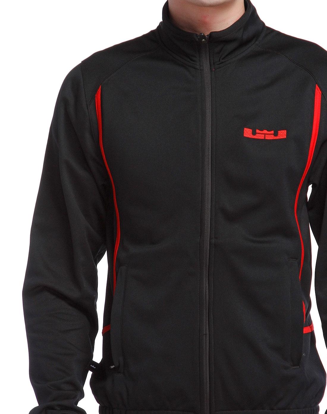 耐克nike男装专场-黑色长袖外套