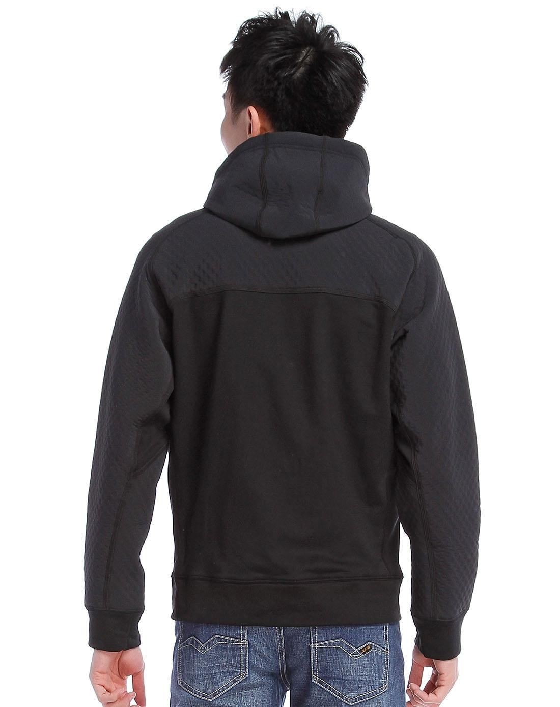耐克nike男士专场-黑色长袖夹克