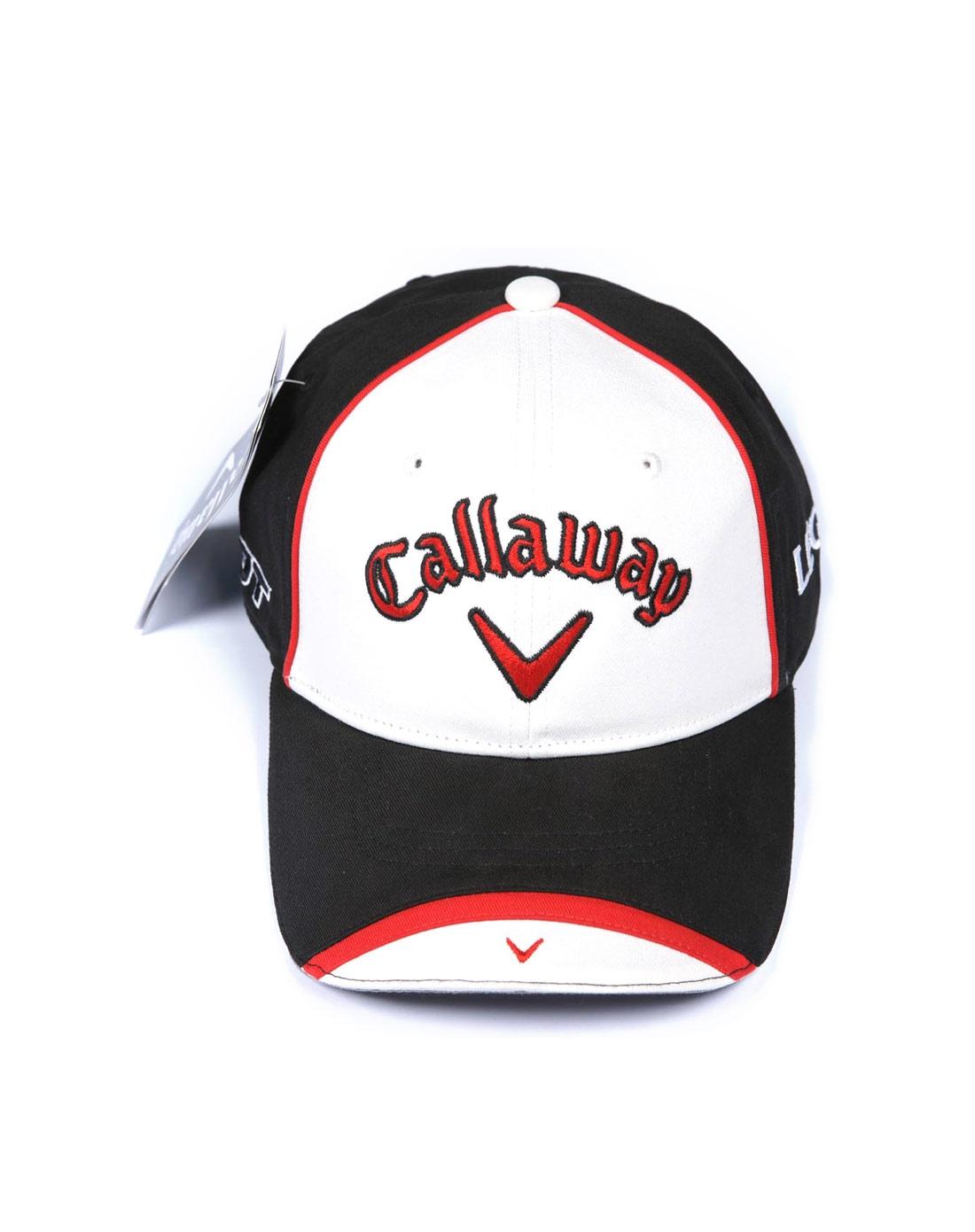 callaway男女男士黑色帽子242mlg984608010