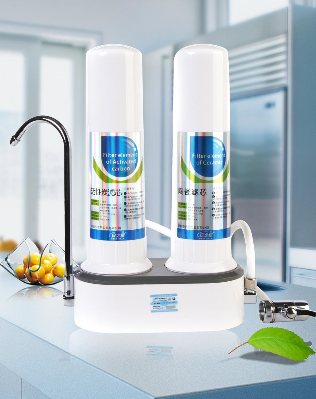 > 家用厨房自来水过滤净水器