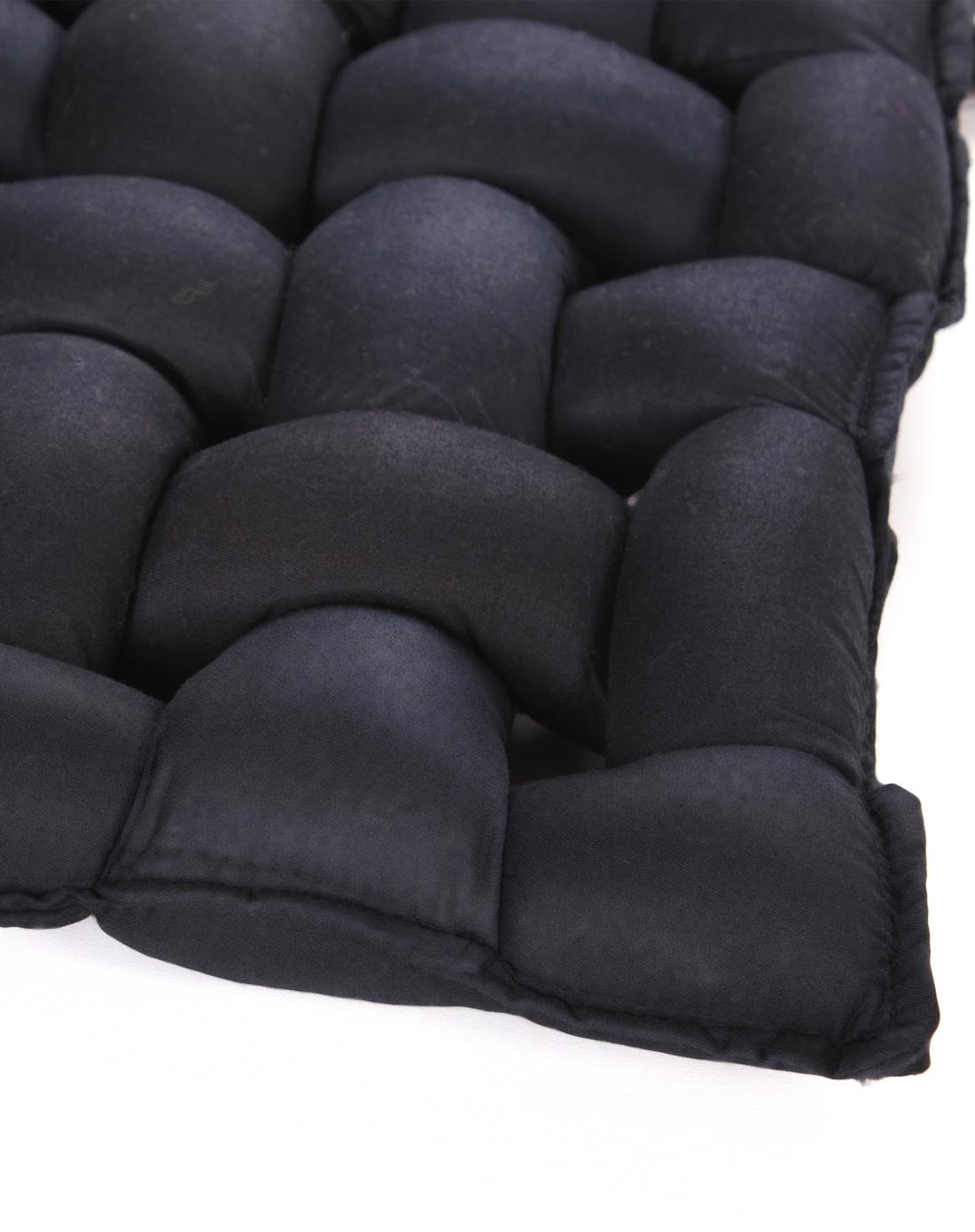手工编织坐垫-黑色45*45cm
