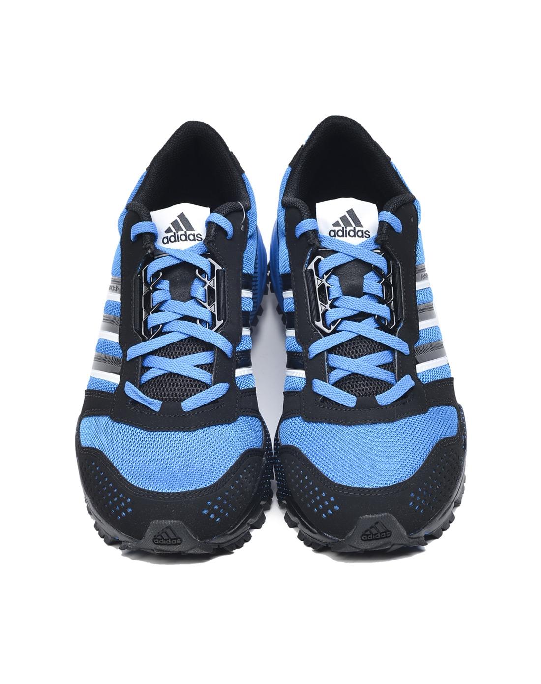 阿迪达斯adidas男鞋专场-男子蓝色跑步鞋