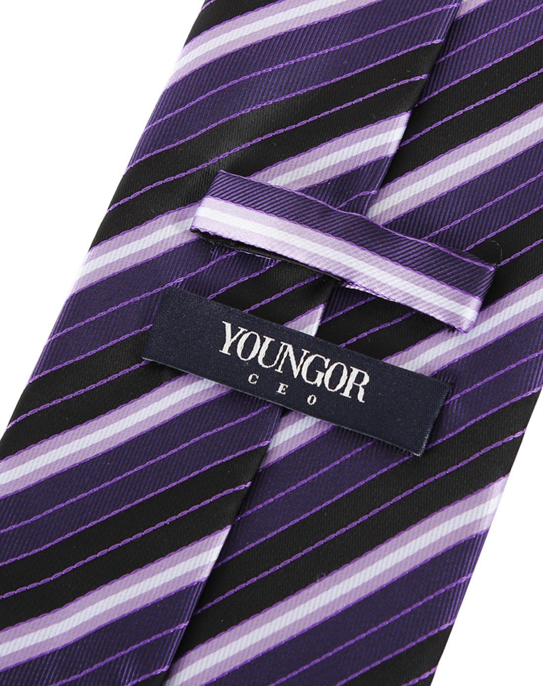胡囹f�X��yK�x�~XZ���_雅戈尔youngor雅戈尔男装紫色领带yk3517pa7022-311