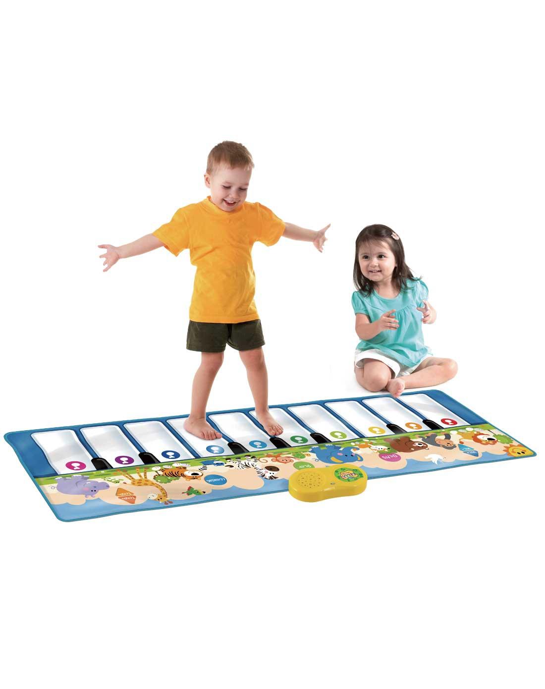 mat音乐魔毯专场教学儿童脚踩钢琴毯slw939图片