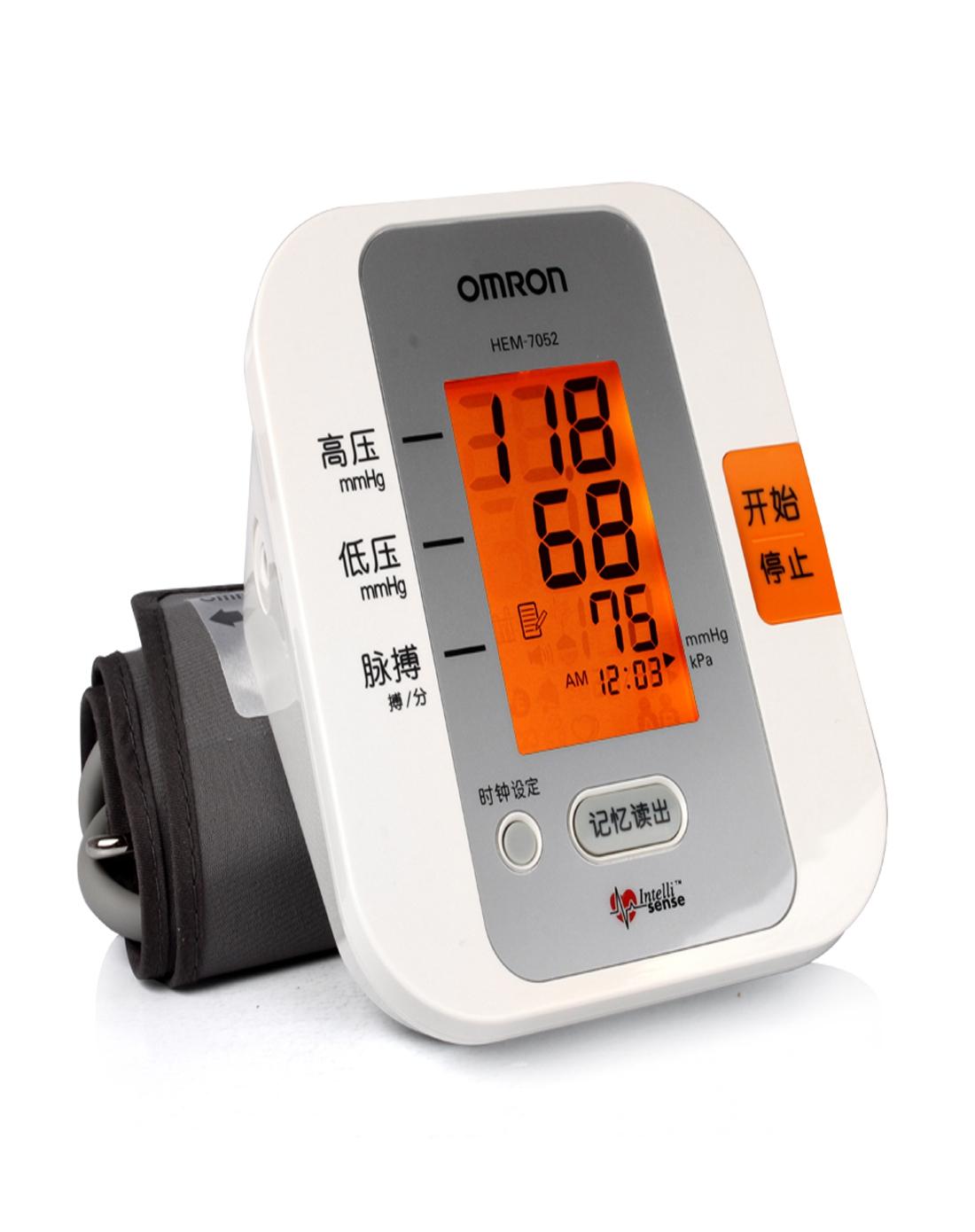 > 欧姆龙血压计