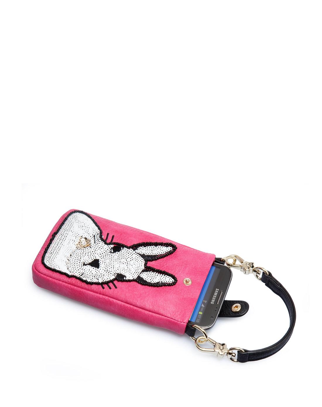 女款甜美可爱手工刺绣淑精美女手提手机包挂包